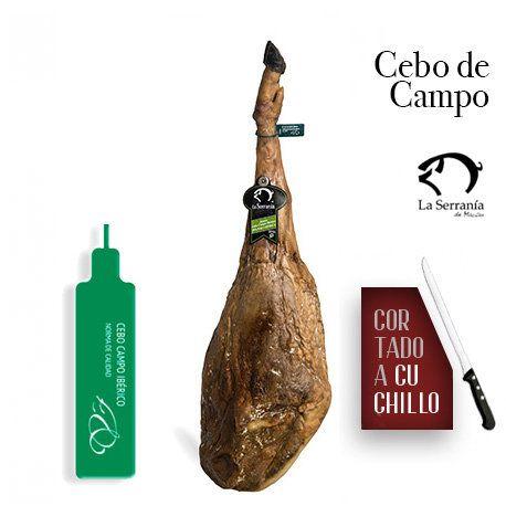 Jamón Cebo de Campo cortado