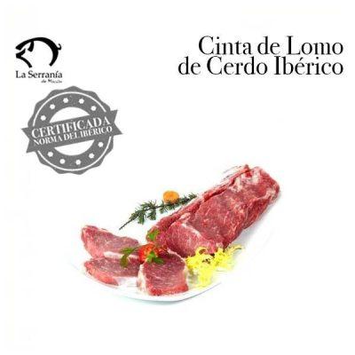Cinta de Lomo Ibérica Certificada