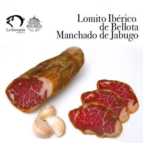 lomito iberico bellota manchado de jabugo