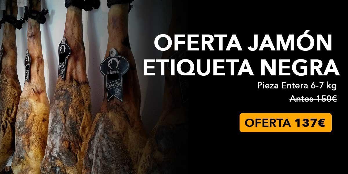 Oferta Jamón Huelva
