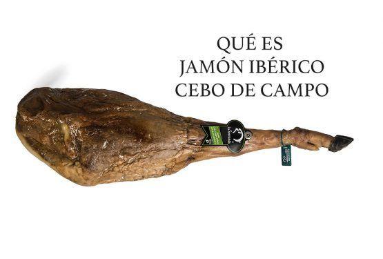 jamón ibérico de cebo